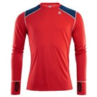 Volnena majica CREW Neck Reinforced Red/Blue Aclima