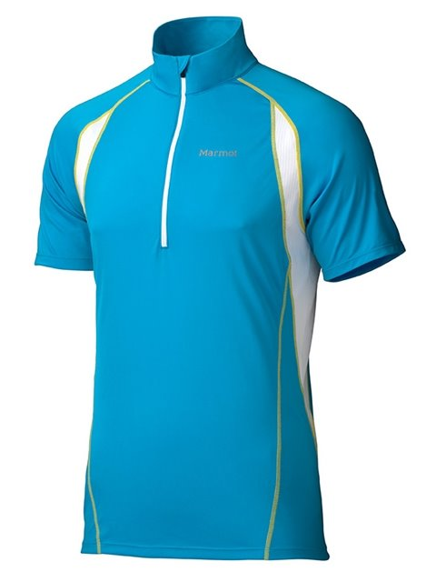 Majica INTERVAL Half Zip SS Atomic Blue Marmot