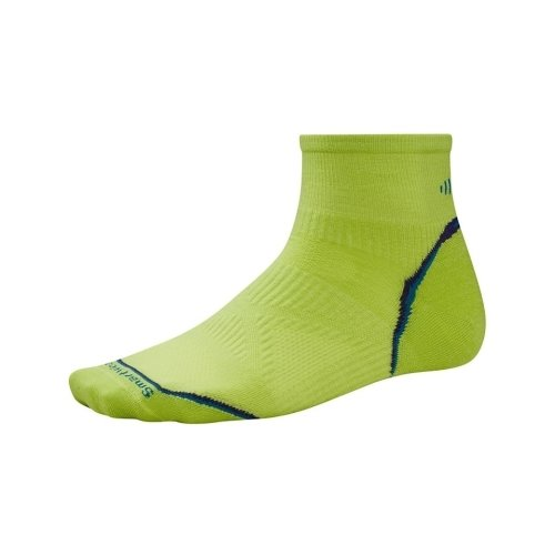 Nogavice volnene PHD RUN ULTRA LIGHT MINI Green Smartwool