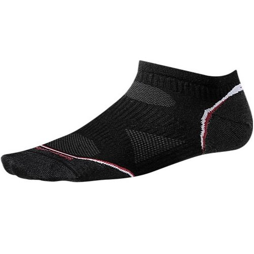 Nogavice volnene PHD RUN ULTRALIGHT MICRO Wm's Black Smartwool