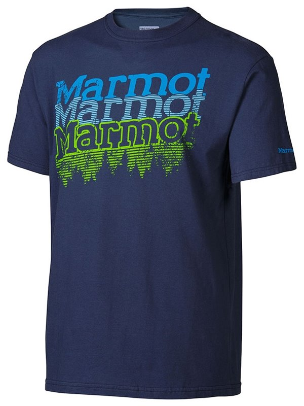 Majica PITCH TEE Twilight Marmot