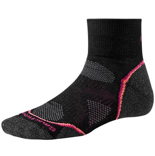 Nogavice volnene PHD RUN LIGHT MINI Wm's Black Smartwool