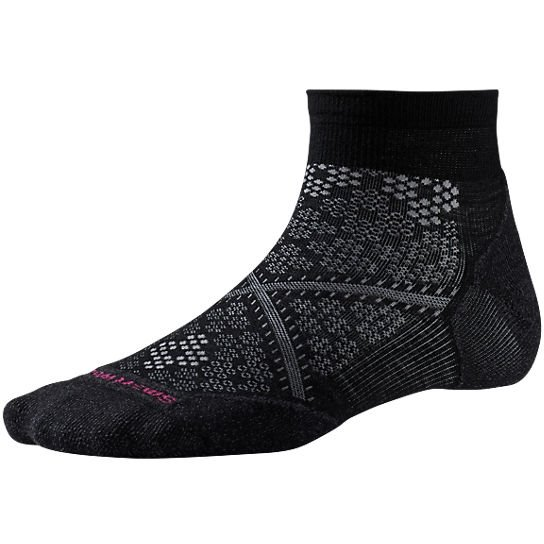 Nogavice volnene PHD RUN LIGHT Elite LC Wm's Black Smartwool