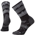 Nogavice volnene PHD OUTDOOR MEDIUM Pattern Charcoal Smartwool