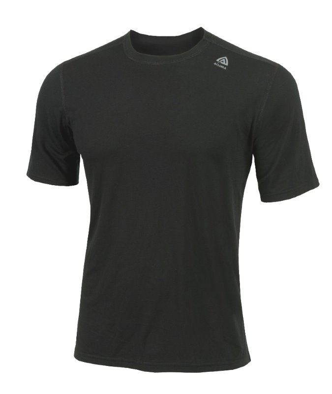 Volnena majica Lightwool T-SHIRT Jet Black Aclima